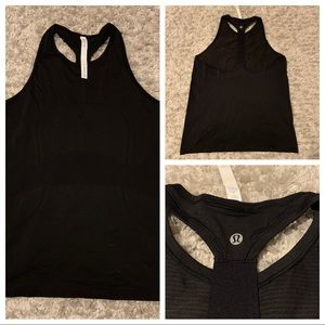 Lululemon Black 'Swiftly Tech' Tank *NEVER WORN*